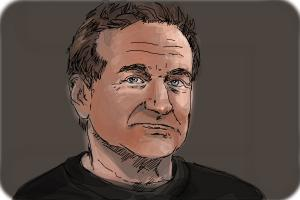 How to Draw Robin Williams