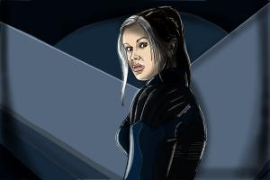 How to Draw Rogue, Anna Paquin from X-Men: Days Of Future Past