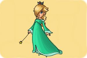 How to Draw Rosalina