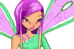 How to draw Roxy from Winx Club