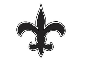 How to Draw Saints Logo, New Orleans Saints, Nfl Team Logo