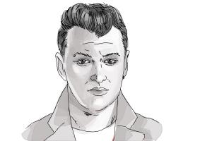 How to draw Sam Smith
