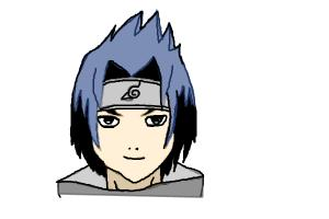 How to Draw Sasuke Uchiha