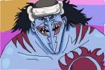 How to Draw Arlong, Saw-Tooth  from One Piece