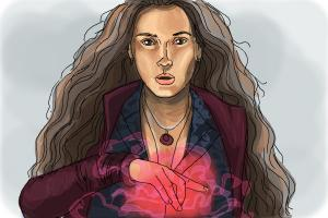 How to Draw Scarlet Witch from Avengers: Age Of Ultron