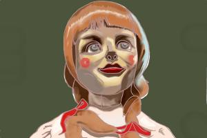 How to Draw Scary Things, Conjuring Doll