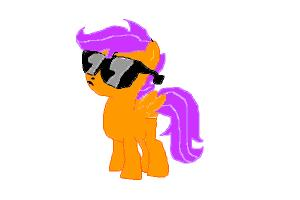 how to draw scootaloo for scootaloo