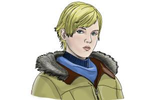 How to Draw Sherry Birkin from Resident Evil