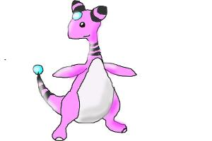 How to draw Shiny Ampharos