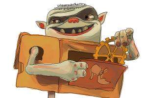 How to draw Shoe from The Boxtrolls