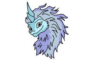 How to Draw Sisu - Raya and the Last Dragon