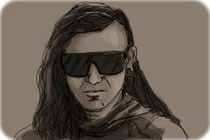 How to Draw Skrillex