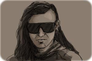 Skrillex • www.androidjones.com Android Jones Art ... |Skrillex Drawings Easy