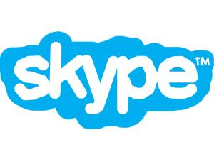 How to draw skype Logo