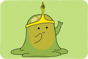 How to draw Slime Princess from Adventure Time
