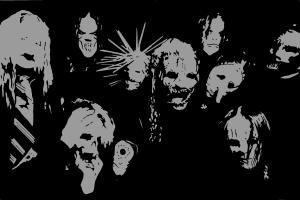 How to draw Slipknot's poster