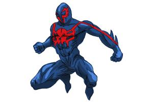 How to Draw Spiderman 2099