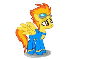 How to draw Spitfire from My Little Pony Friendship is Magic