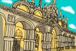 How to Draw St. Mark'S Basilica