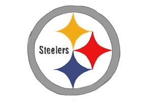 How to draw Steelers Logo, Pittsburgh Steelers, NFL team logo