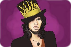 How to Draw Steven Tyler
