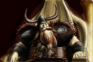 How to Draw Stoick The Vast from How to Train Your Dragon 2