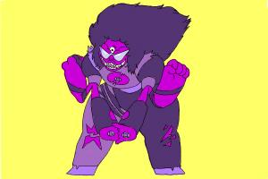 How to Draw Sugilite from Steven Universe