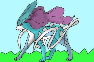 How to Draw Suicune The Aurora Pokemon