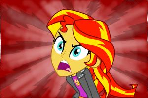 How to draw Sunset Shimmer from My Little Pony Equestria Girls
