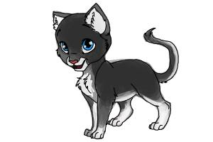 How to draw Swiftpaw from Warrior Cats