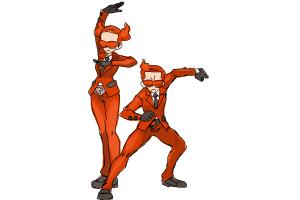 How to Draw Team Flare from Pokemon X & Y