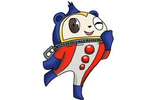 How to Draw Teddie from Persona 4