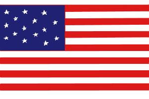 How To Draw The American Flag Drawingnow