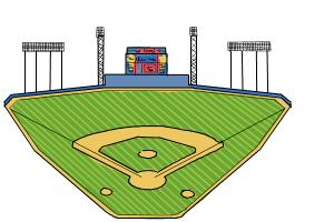 How to draw The Busch Stadium