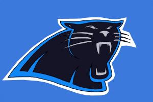 How to Draw The Carolina Panthers Logo, Nfl Team Logo