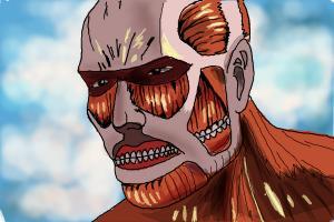 How to Draw The Colossal Titan Form from Shingeki No Kyojin