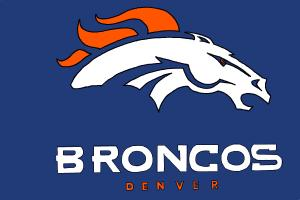 How to draw the Denver Broncos, NFL team logo