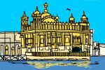 How to Draw The Golden Temple