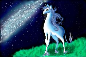 How to Draw The Last Unicorn (And Milky Way :) )