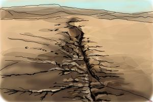 How to Draw The San Andreas Fault