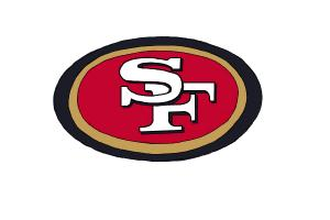 How to draw the San Francisco 49ers logo, NFL team logo