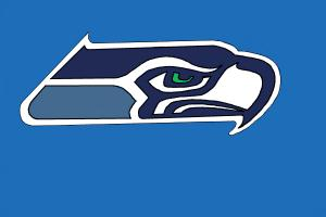 How to Draw The Seattle Seahawks Logo, Nfl Team Logo