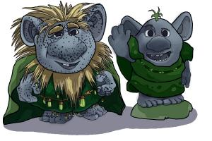 How to Draw The Trolls from Frozen