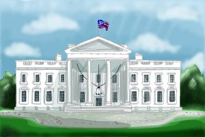 Amazing How To Draw The White House