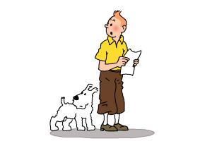 How to Draw Tintin And Snowy from The Adventures Of Tintin