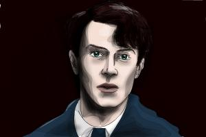How to draw Tom Riddle from Harry Potter and The Chamber of Secrets