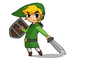 How to Draw Toon Link Step by Step