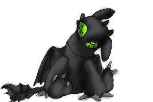 How To Draw Toothless The Dragon From H T T Y D How To Train Your