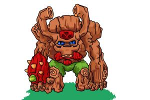 How to Draw Tree Rex from Skylanders Giants