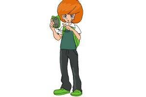 How to Draw Trevor from Pokemon X And Y